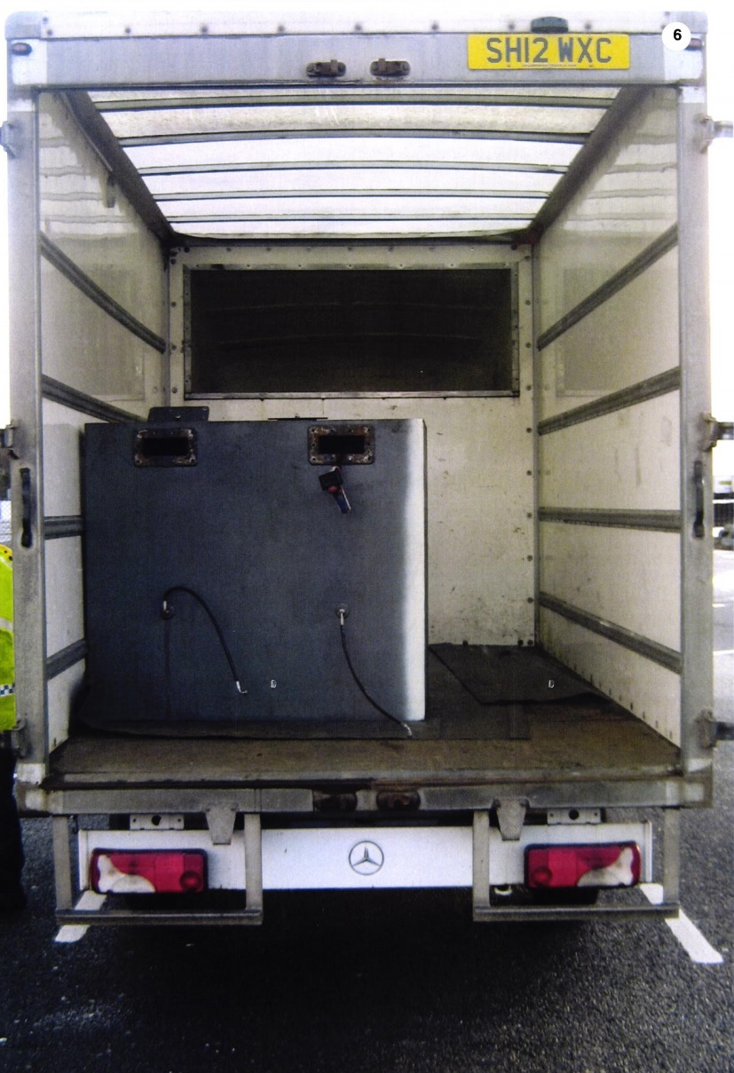 A lorry carrying the drugs was stopped by police